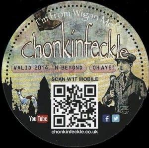 Chonkin Sticker